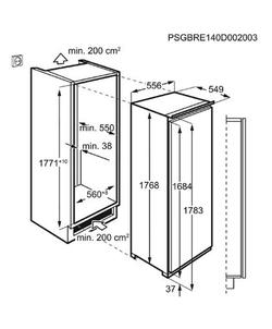 AEG ABE818F6NC inbouw koelkast