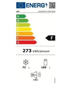 AEG SCE618F3LF inbouw koelkast