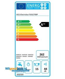 AEG FSE62700P inbouw vaatwasser
