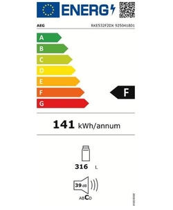 AEG RKE532F2DX koelkast