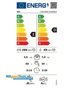 AEG L7WE76EBI was-droogcombinatie