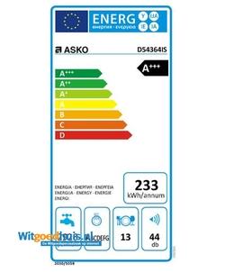 ASKO D5436XL RVS inbouw vaatwasser