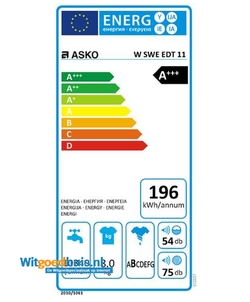 ASKO W Sweden Edition wasmachine