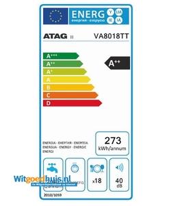 ATAG VA8018TT inbouw vaatwasser