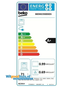 Beko BIDM15500XDS oven