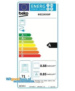 Beko BIE 22400 XP oven