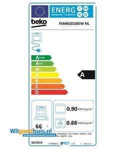 Beko FSM62010DW NL fornuis