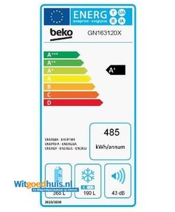 Beko GN163120X Amerikaanse koelkast