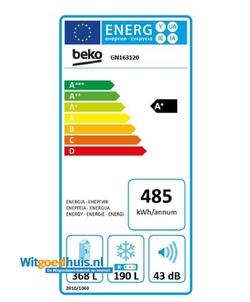 Beko GN163120 Amerikaanse koelkast