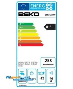 Beko DFN 26220 W vaatwasser