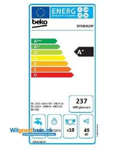 Beko DFS05013W vaatwasser