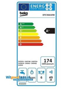 Beko DTC36610W vaatwasser