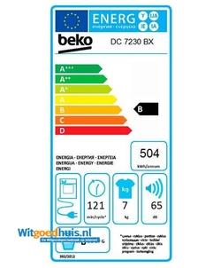 Beko DC7230BX wasdroger