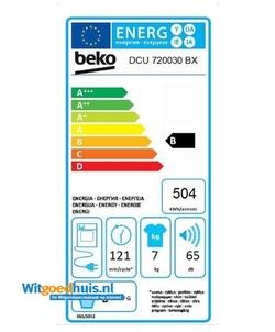 Beko DCU720030BX wasdroger
