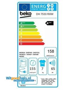 Beko DH7533RXW wasdroger