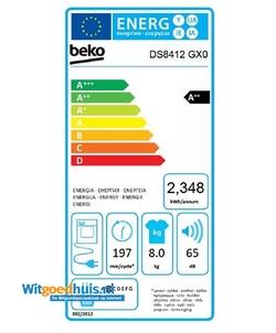 Beko DS8412GX0 wasdroger