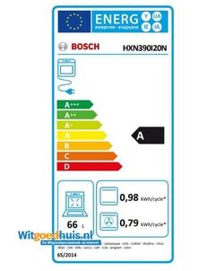 Bosch HXN390I20N Serie 4 Exclusiv fornuis