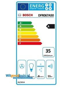 Bosch DFR067A50 inbouw afzuigkap