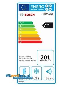 Bosch KIS77AF30 Serie 6 inbouw koel / vriescombinatie