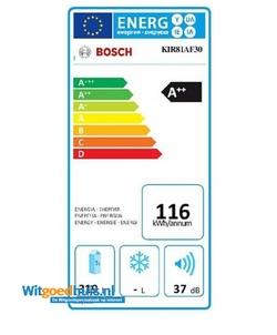 Bosch KIR81AF30 Serie 6 inbouw koelkast