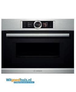 Bosch inbouw oven CMG636NS2 Serie 8 Exclusiv