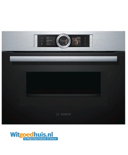 bosch inbouw oven cmg676bs1 serie 8 witgoedhuis. Black Bedroom Furniture Sets. Home Design Ideas