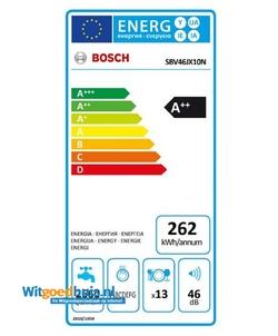 Bosch SBV46JX10N inbouw vaatwasser