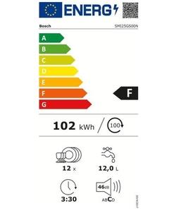 Bosch SMI25GS00N Serie 2 Exclusiv inbouw vaatwasser