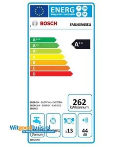 Bosch SMU65N65EU Serie 6 inbouw vaatwasser