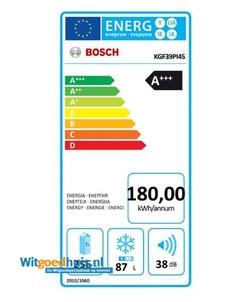 Bosch KGF39PI45 koelkast