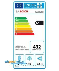 Bosch KAG90AI20 Serie 6 Amerikaanse koelkast