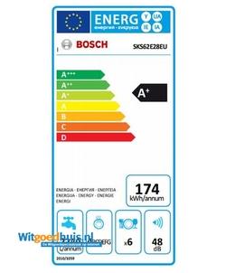 Bosch SKS62E28EU Serie 4 vaatwasser