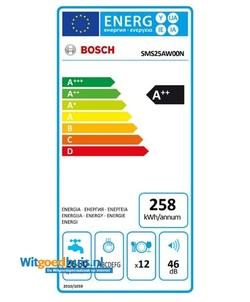 Bosch SMS25AW00N vaatwasser