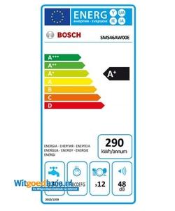 Bosch SMS46AW00E vaatwasser