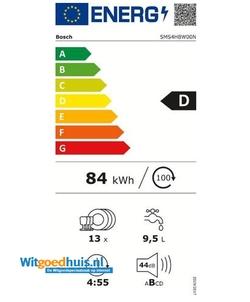 Bosch SMS4HBW00N vaatwasser