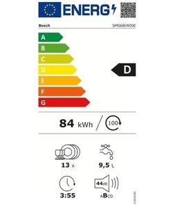 Bosch SMS68IW00E vaatwasser
