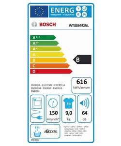 Bosch WTG86492NL wasdroger
