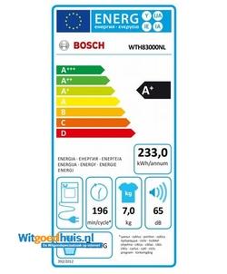 Bosch WTH83000NL wasdroger