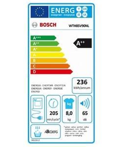 Bosch WTH85V90NL wasdroger