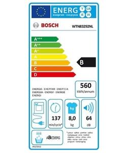 Bosch WTN83292NL wasdroger