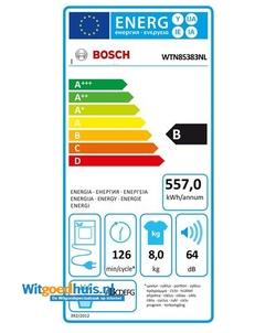 Bosch WTN85383NL Serie 4 wasdroger