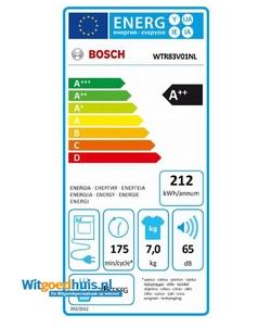 Bosch WTR83V01NL wasdroger