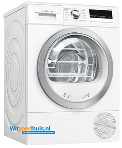 Bosch wasdroger WTR85V81NL Serie 4 Exclusiv