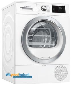 Bosch wasdroger WTU87691NL Serie 6 Exclusiv