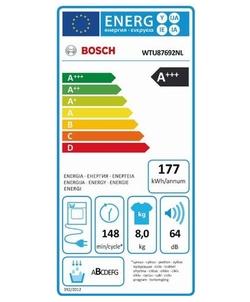 Bosch WTU87692NL wasdroger