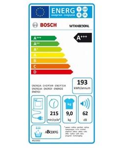 Bosch WTXH8E90NL wasdroger