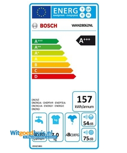 Bosch WAN28062NL Serie 4 wasmachine