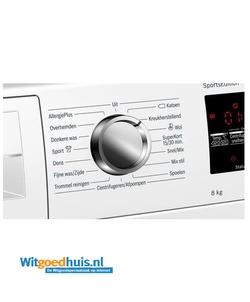 Bosch WAT28493NL Serie 6 Exclusiv wasmachine
