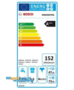Bosch WAW32672NL Serie 8 wasmachine