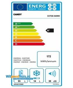 Candy CCTOS 542 WH koelkast